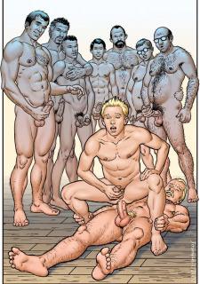 Gay Comics- The Match image 18
