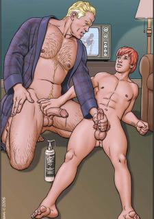 Gay Comics- The Match image 25