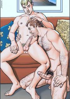 Gay Comics- The Match image 27