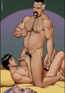 Gay Comics- The Match image 28