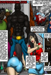 Illustratedinterracial- Ghetto Teen image 10