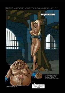 Zero Galvan- Gladiatrix Training Hell image 20