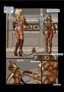Zero Galvan- Gladiatrix Training Hell image 38