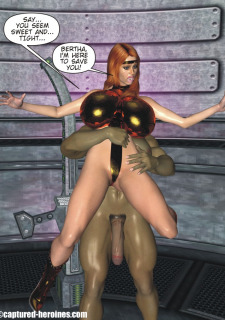 Good Intentions- Captured Heroines image 7
