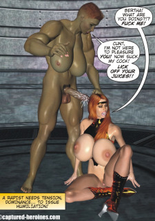 Good Intentions- Captured Heroines image 26