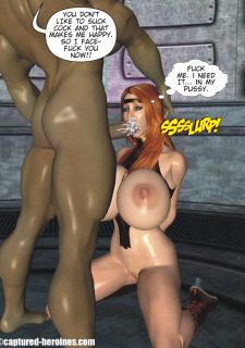 Good Intentions- Captured Heroines image 27