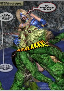 Got Gal vs Fishmen From The Deep image 144