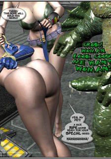 Got Gal vs Fishmen From The Deep image 155