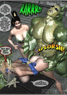 Got Gal vs Fishmen From The Deep image 162