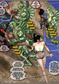 Got Gal vs Fishmen From The Deep image 191