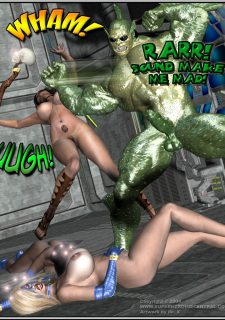 Got Gal vs Fishmen From The Deep image 211