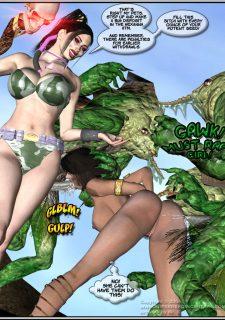 Got Gal vs Fishmen From The Deep image 76