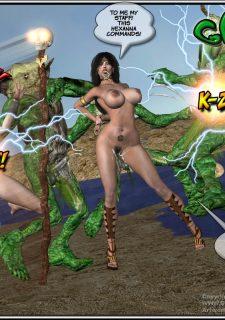 Got Gal vs Fishmen From The Deep image 80