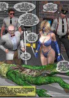 Got Gal vs Fishmen From The Deep image 89