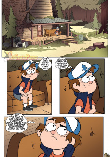 Gravity Falls- One Summer of Pleasure Book 3 image 20