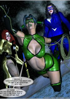 Green Hornet- Superheroine Central image 4