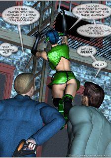 Green Hornet- Superheroine Central image 16