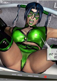 Green Hornet- Superheroine Central image 26