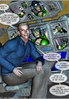 Green Hornet- Superheroine Central image 28