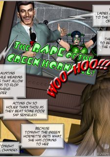 Green Hornet- Superheroine Central image 29