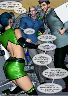 Green Hornet- Superheroine Central image 31