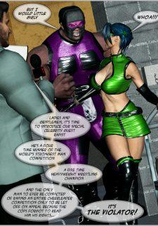 Green Hornet- Superheroine Central image 32