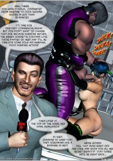 Green Hornet- Superheroine Central image 45