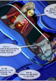 Green Hornet- Superheroine Central image 49