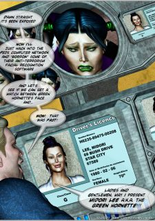 Green Hornet- Superheroine Central image 74