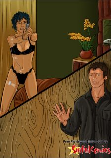 Halle Berry Teamed by Hugh and John image 3