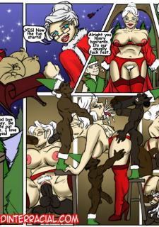 Happy Holiday IllustratedInterracial image 10