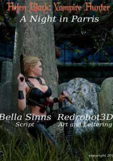 Helen Black, Vampire Hunter- Redrobot3D image 2