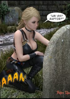Helen Black, Vampire Hunter- Redrobot3D image 9