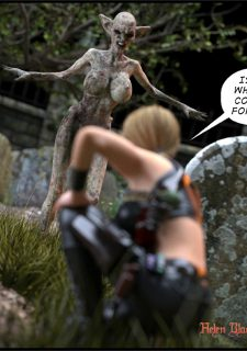 Helen Black, Vampire Hunter- Redrobot3D image 13