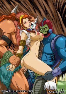 Heman- Gogo Celebs porn comics 8 muses
