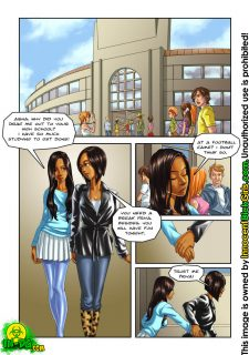Aisha goes to Homecoming [Innocent DickGirl] image 02
