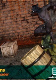 Horny Goblins 1-Naive Cheerleader, 3DSimon image 3