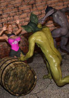 Horny Goblins 1-Naive Cheerleader, 3DSimon image 30