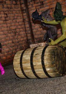 Horny Goblins 1-Naive Cheerleader, 3DSimon image 31