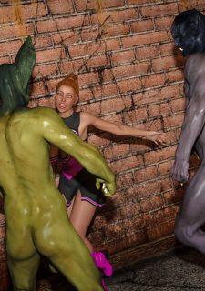 Horny Goblins 1-Naive Cheerleader, 3DSimon image 34