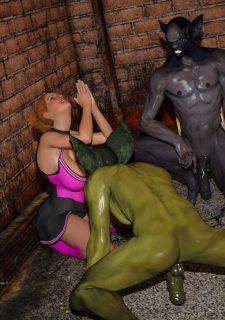 Horny Goblins 1-Naive Cheerleader, 3DSimon image 39
