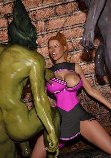 Horny Goblins 1-Naive Cheerleader, 3DSimon image 41