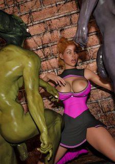 Horny Goblins 1-Naive Cheerleader, 3DSimon image 42