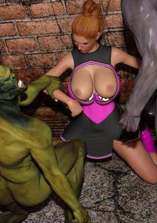 Horny Goblins 1-Naive Cheerleader, 3DSimon image 43