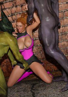 Horny Goblins 1-Naive Cheerleader, 3DSimon image 50