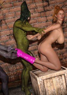 Horny Goblins 1-Naive Cheerleader, 3DSimon image 57
