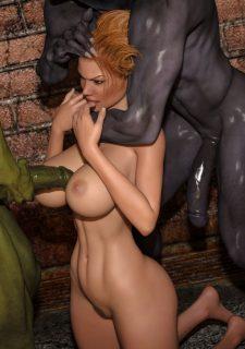 Horny Goblins 1-Naive Cheerleader, 3DSimon image 62