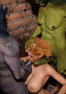 Horny Goblins 1-Naive Cheerleader, 3DSimon image 69