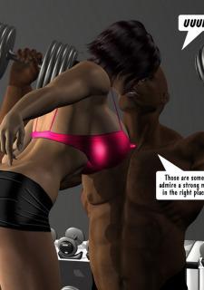 Huge Tits-Paul Dancing Fitness Sex image 10