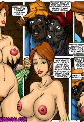 Emptiness- Illustrated interracial image 24
